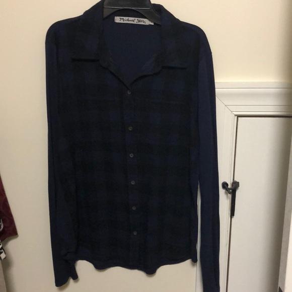 Michael Stars Tops - plaid flannel